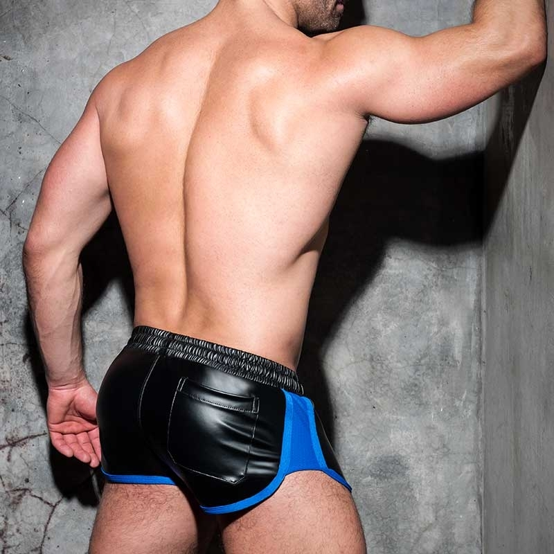 AD-FETISH wet SHORTS sprinter ADF79 code in blue