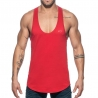 ADDICTED TANKTOP Muskelshirt AD777 Flaggen style in rot