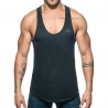 ADDICTED TANKTOP Muskelshirt AD777 Flaggen style in schwarz
