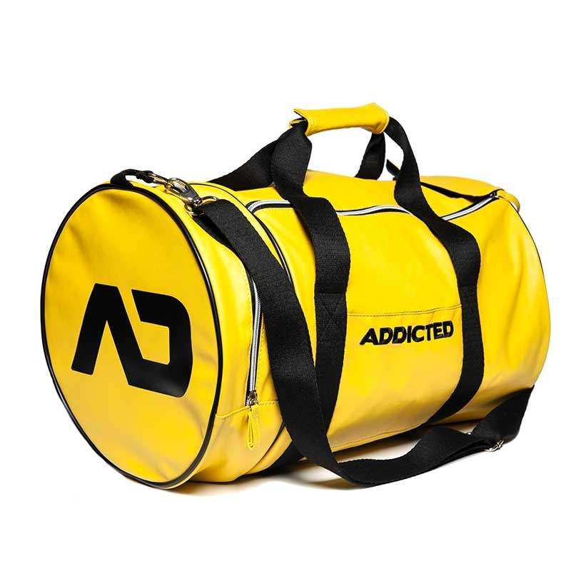 ADDICTED wet TASCHE rund AD794 fitness Style in gelb