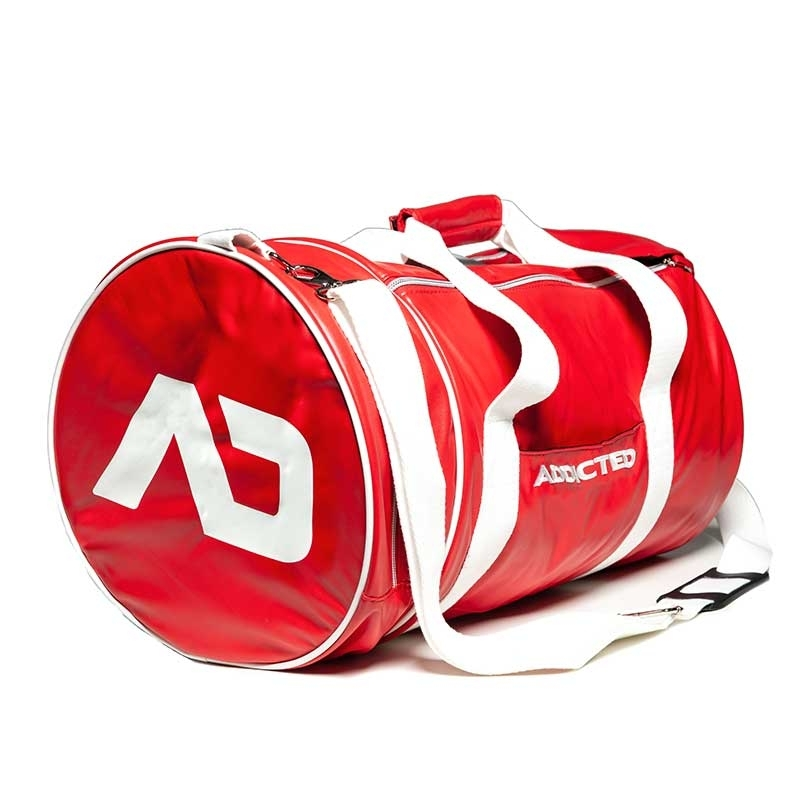 ADDICTED wet TASCHE rund AD794 fitness Style in rot