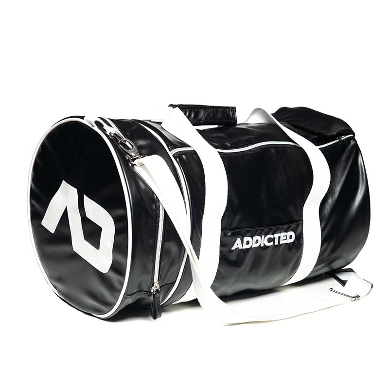 ADDICTED wet BAG round AD794 fitness style in black