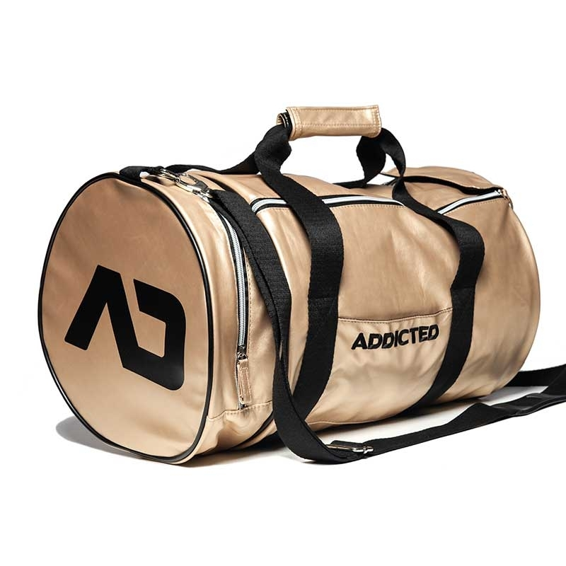 ADDICTED wet TASCHE rund AD794 fitness Style in gold