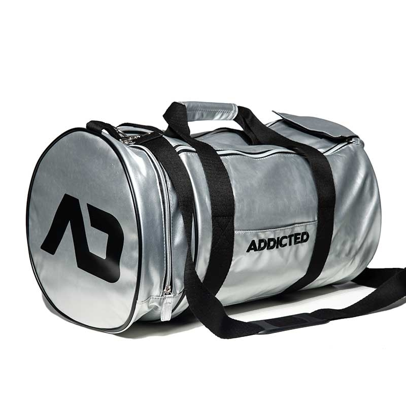 ADDICTED wet BAG round AD794 fitness style in silver