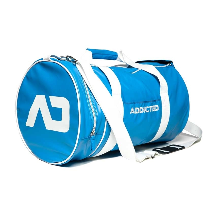 ADDICTED wet TASCHE rund AD794 fitness Style in hellblau