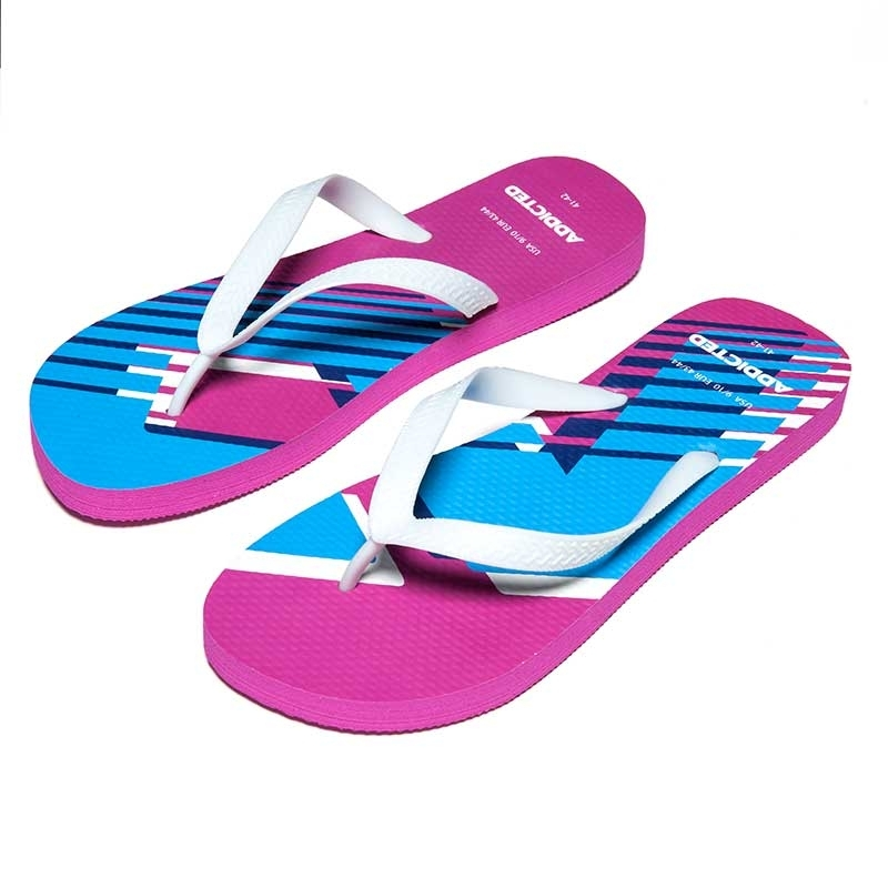 ADDICTED SANDALS brand AD796 toes separator in fuchsia