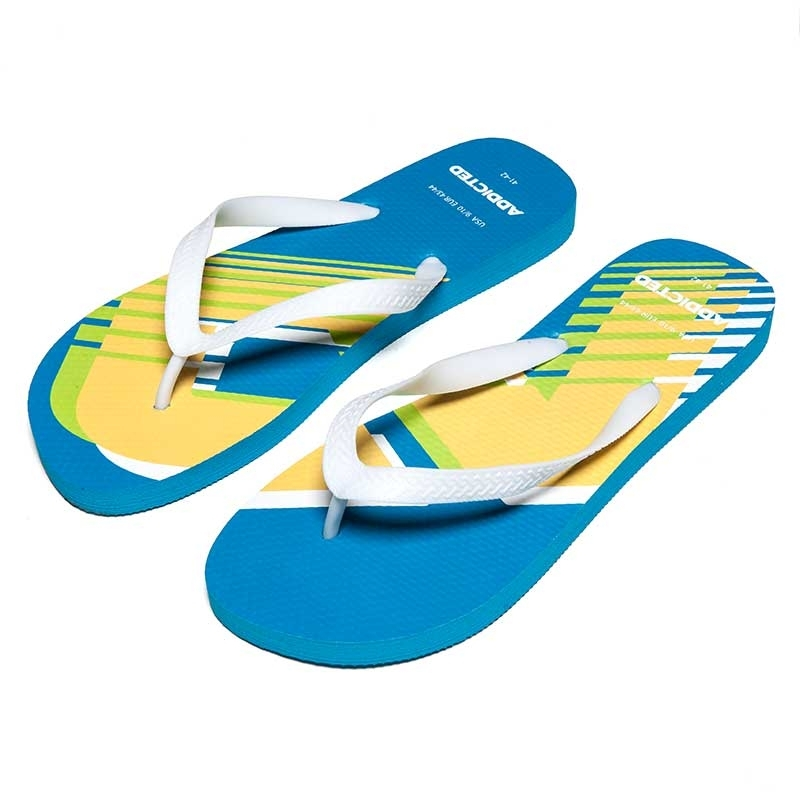 ADDICTED SANDALS brand AD796 toes separator in turquoise