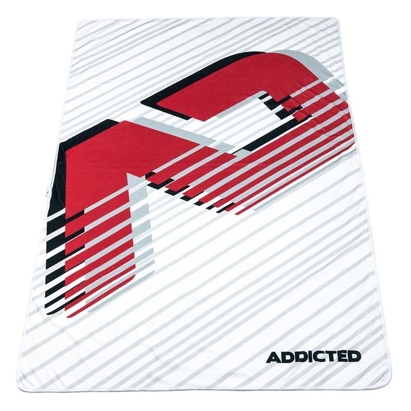 ADDICTED BEACH TOWEL brand AD716 in white