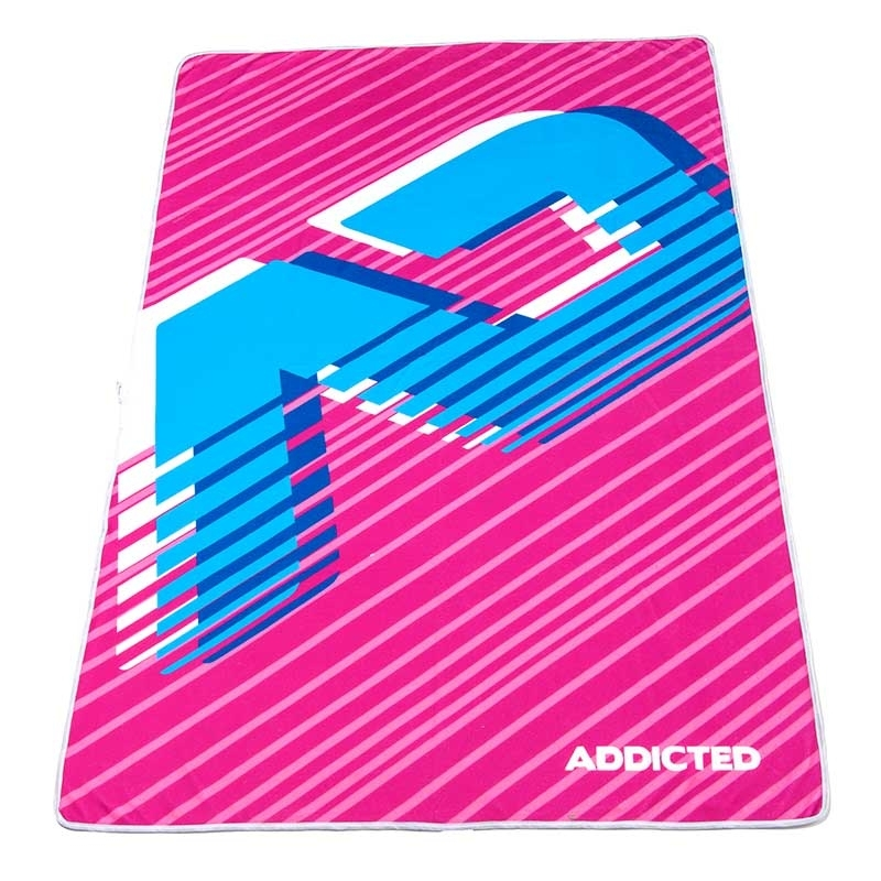 ADDICTED BEACH TOWEL brand AD716 in fuchsia