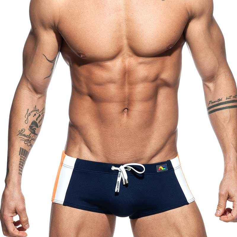 ADDICTED SWIM BOXER Swimmer basic ADS212 push-up in dark blue
