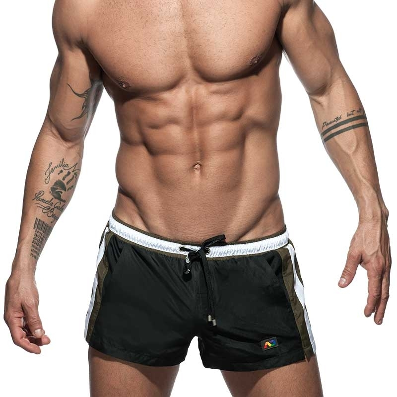 ADDICTED BADESHORTS Schwimmer basic ADS214 in schwarz