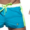 ADDICTED BADESHORTS Schwimmer basic ADS214 in turquoise