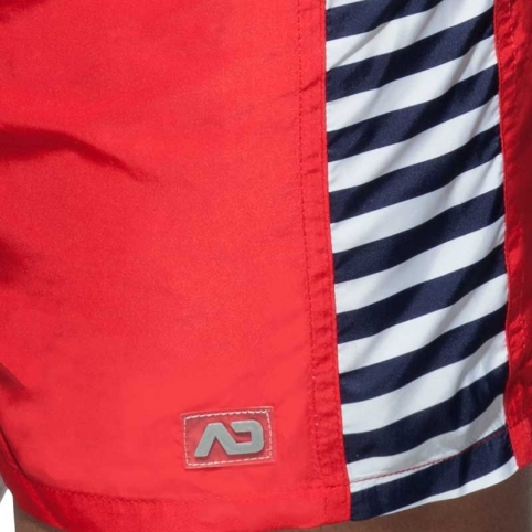 ADDICTED SWIM SHORTS sea surf ADS177 in red