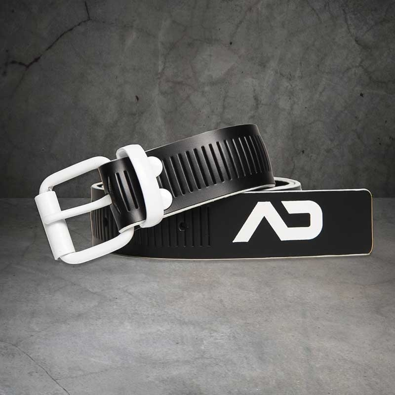 AD-FETISH wet BELT code ADF120 lock buckle in white