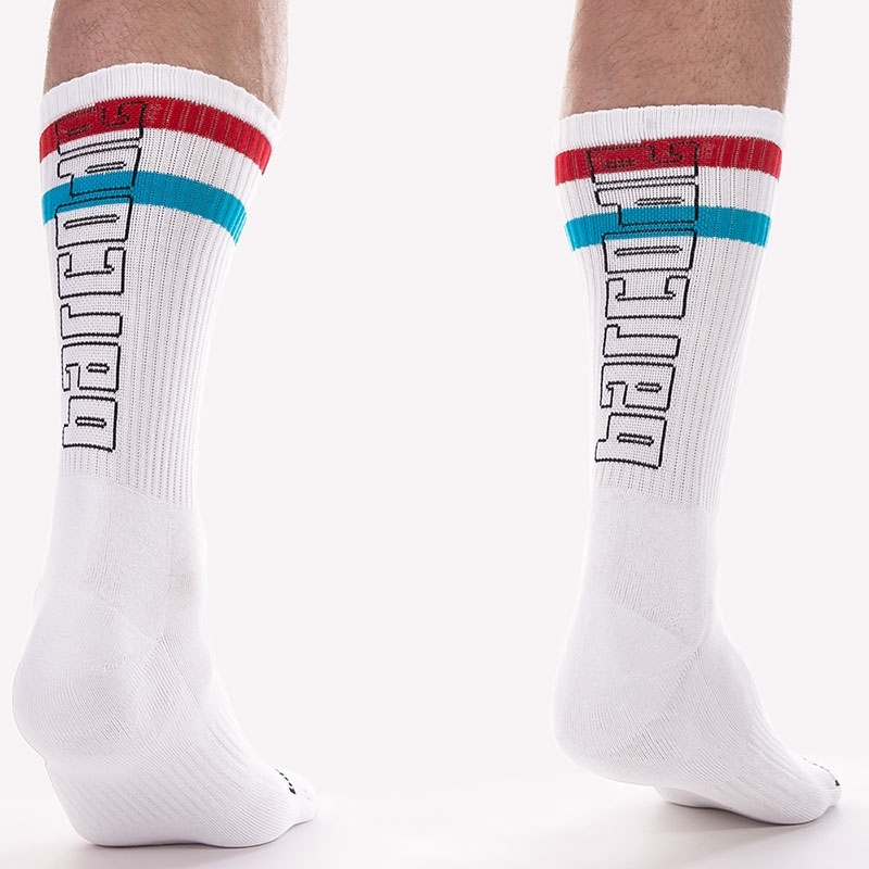 BARCODE Berlin STOCKING Brand 91620 ringlet in turquoise