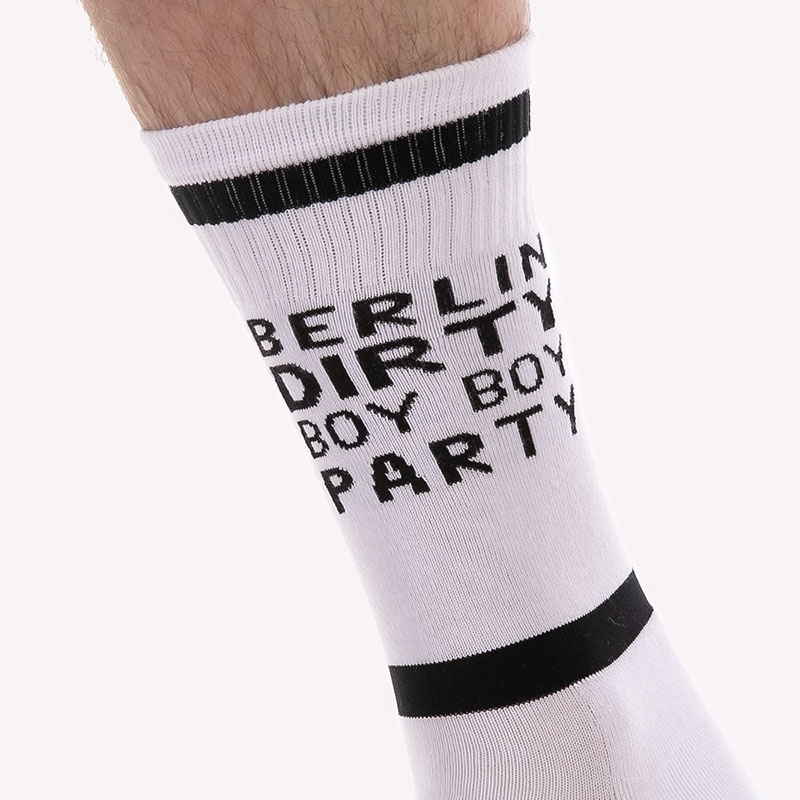 BARCODE Berlin STOCKING motto 91623 dirty boy
