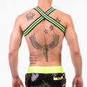 BARCODE Berlin HARNESS 91668 Player in neon green with blue