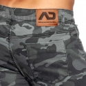 ADDICTED JEANSHOSE AD837 in camouflage anthrazit