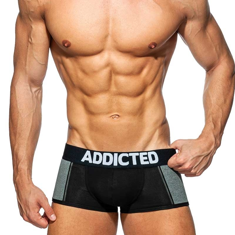 ADDICTED PANTS spacer AD787 Push-Up in schwarz