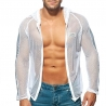 ADDICTED mesh JACKET beach AD841 basic in white