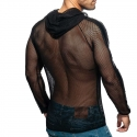 ADDICTED mesh JACKET beach AD841 basic in black