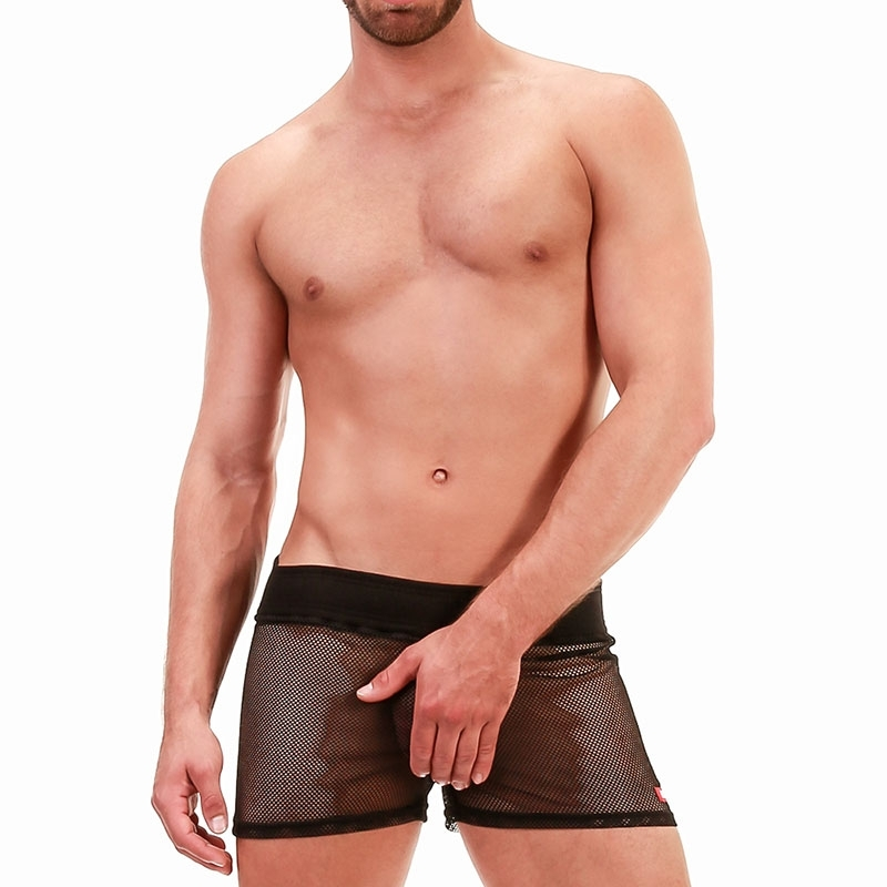 BARCODE Berlin SHORTS mesh 91700 in black