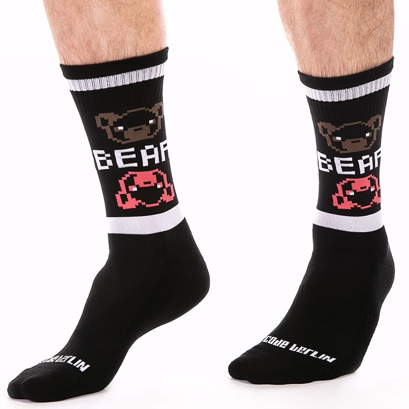 BARCODE Berlin STOCKING motto 91630 big bear
