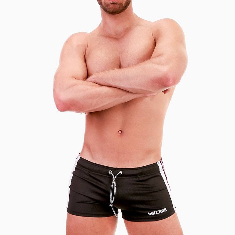 BARCODE Berlin SHORTS perforated 91679 Push-Up in black