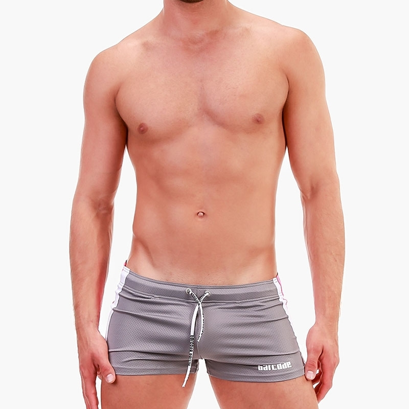 BARCODE Berlin SHORTS gelocht 91679 Push-Up in grau