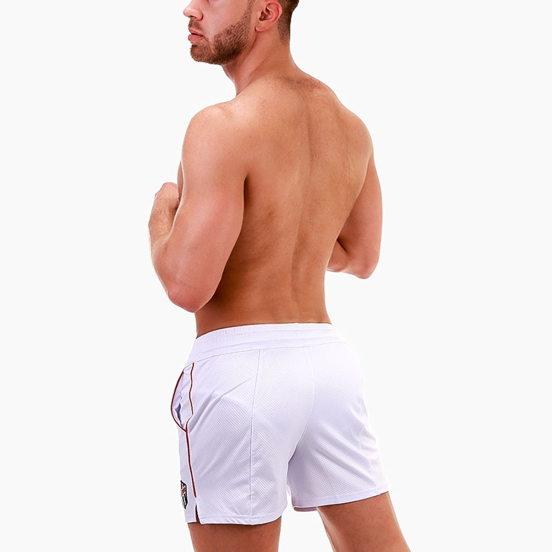 BARCODE Berlin SHORTS perforated 91682 run in white