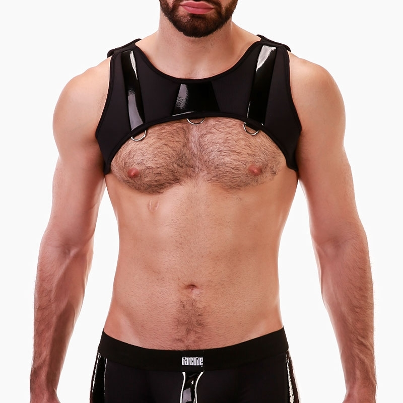 BARCODE Berlin HARNESS armor 91687 in black