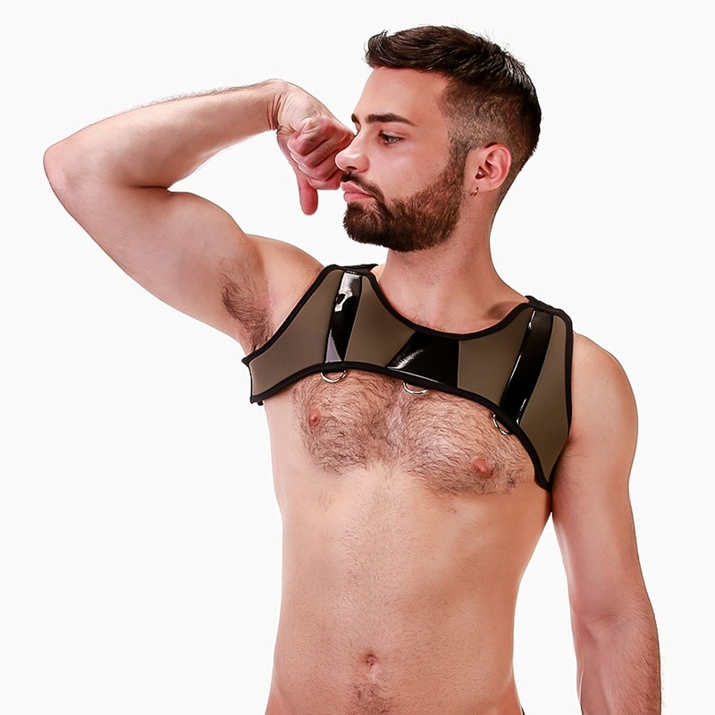 BARCODE Berlin HARNESS armor 91687 in oliv green