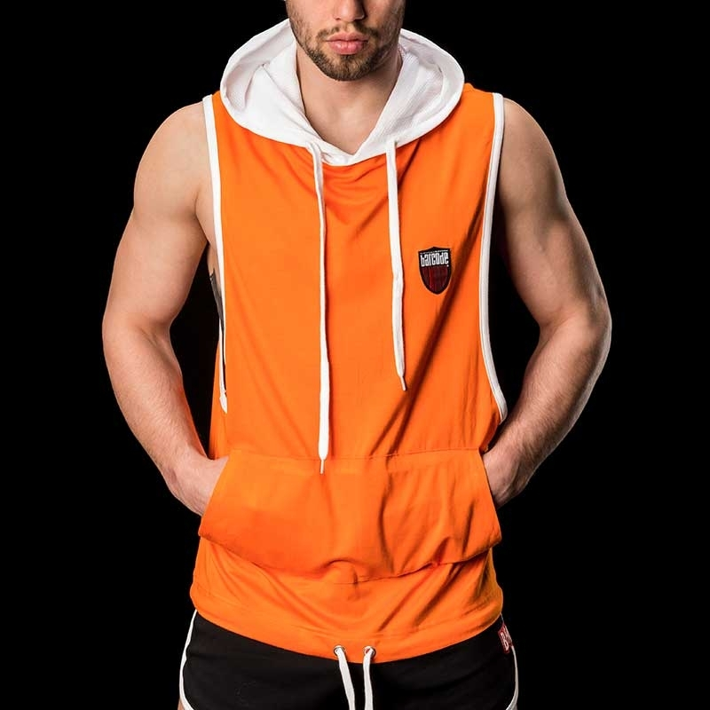 BARCODE Berlin Hoodie TANKTOP Home 91120 bambus in orange