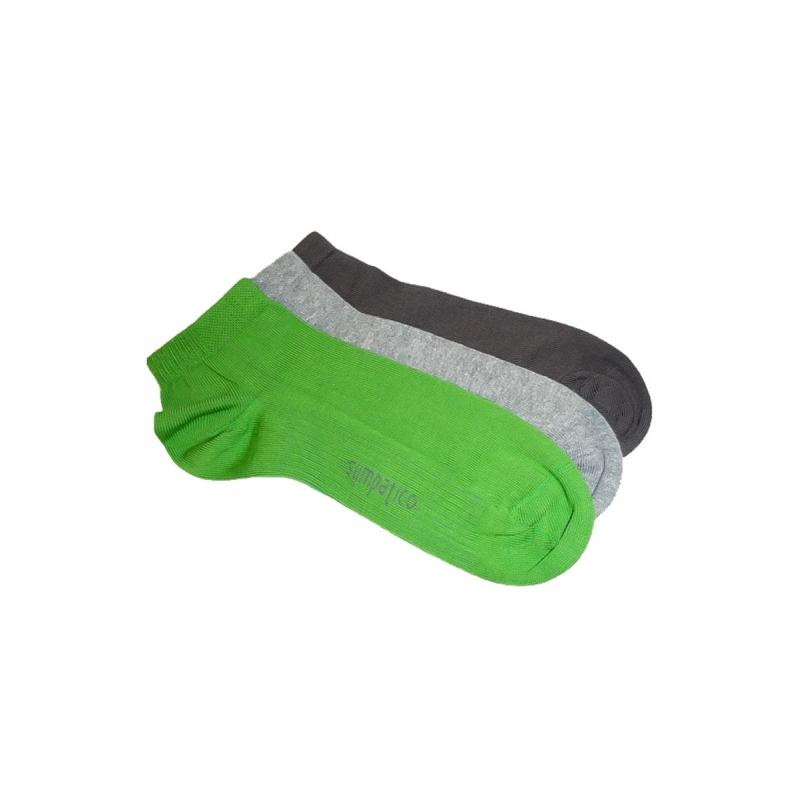 Sympatico SNEAKER 3 Paar unisex Socken GGD