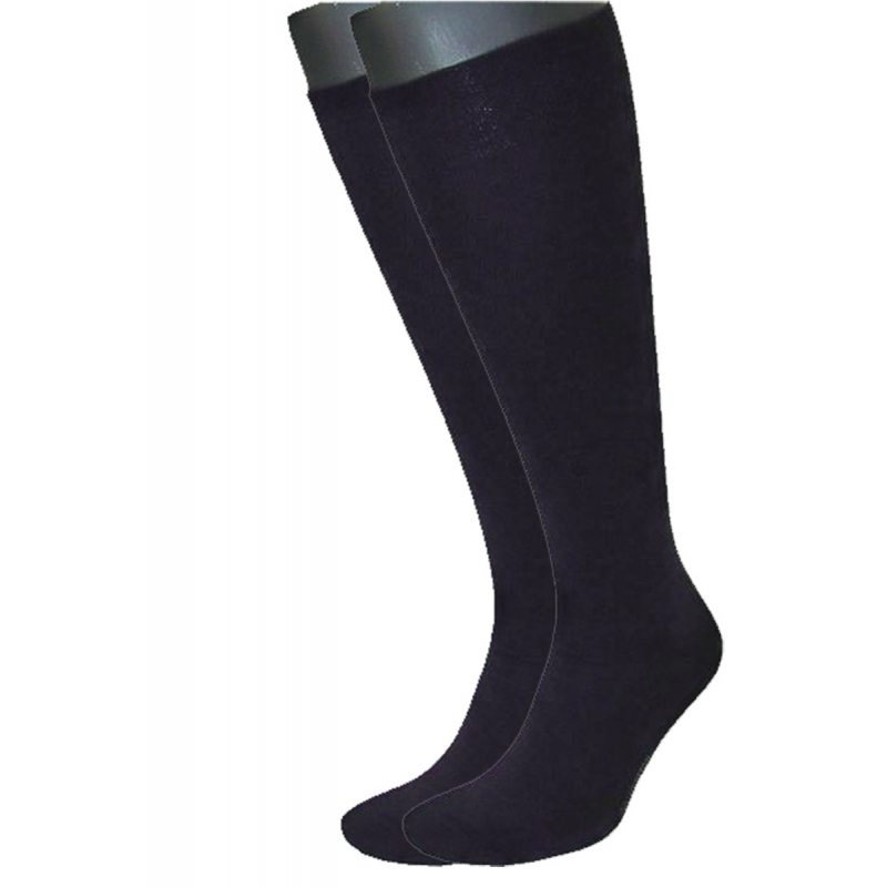 SYMPATICO KNEE Stocking 2-pair navy-blue