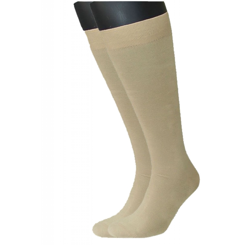 SYMPATICO KNEE Stocking 2-pair beige