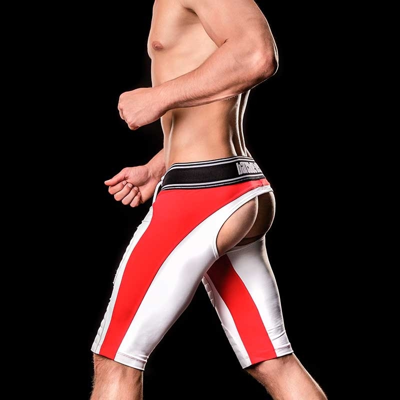 BARCODE Berlin backless trunks PANTS game 90946 football in red