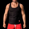 BARCODE Berlin TANK Top Thermo Omar wabe-black