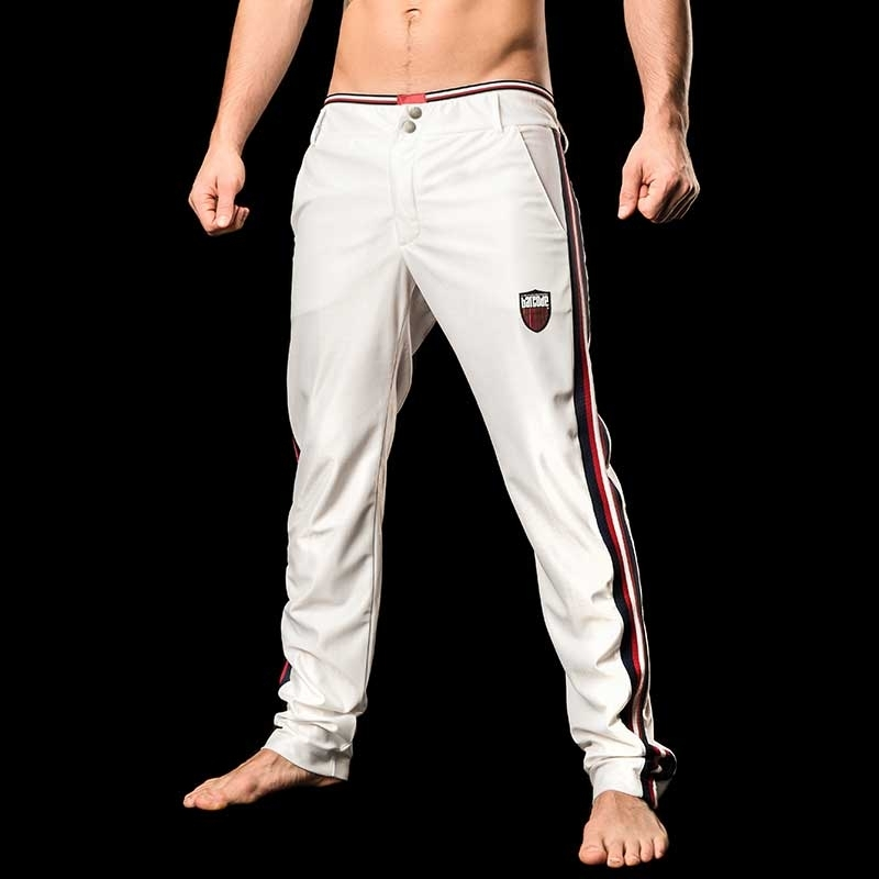 BARCODE Berlin PANTS WET Sport Yvan  white