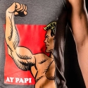 KETTE Berlin TANK Top cover -Ay Papi- grau
