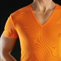 BODY art T-SHIRT MESH Epirus orange