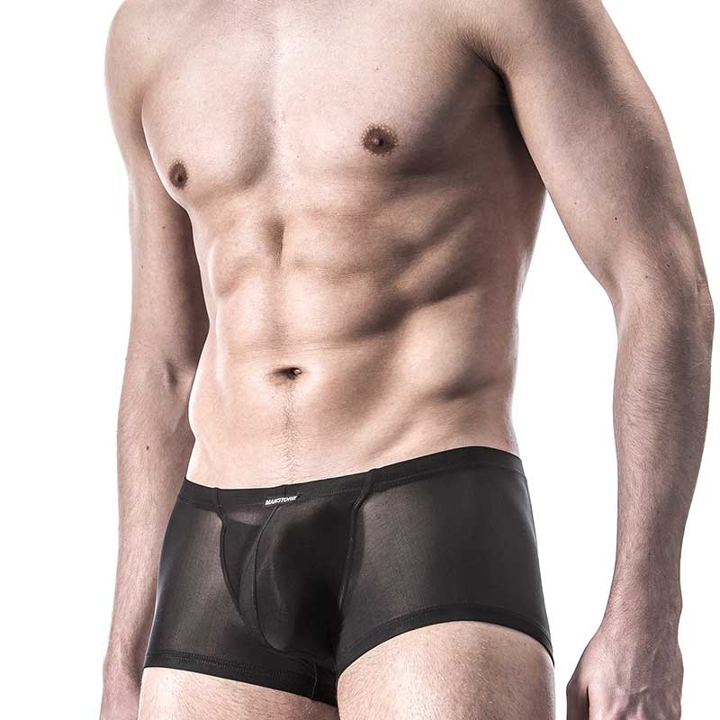 MANSTORE PANTS pouch M101 Push-up black-mesh