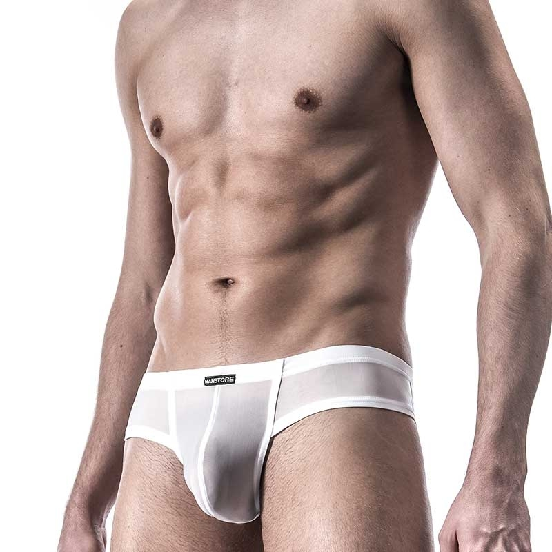 MANSTORE SLIP hot M101 cheeky white-mesh