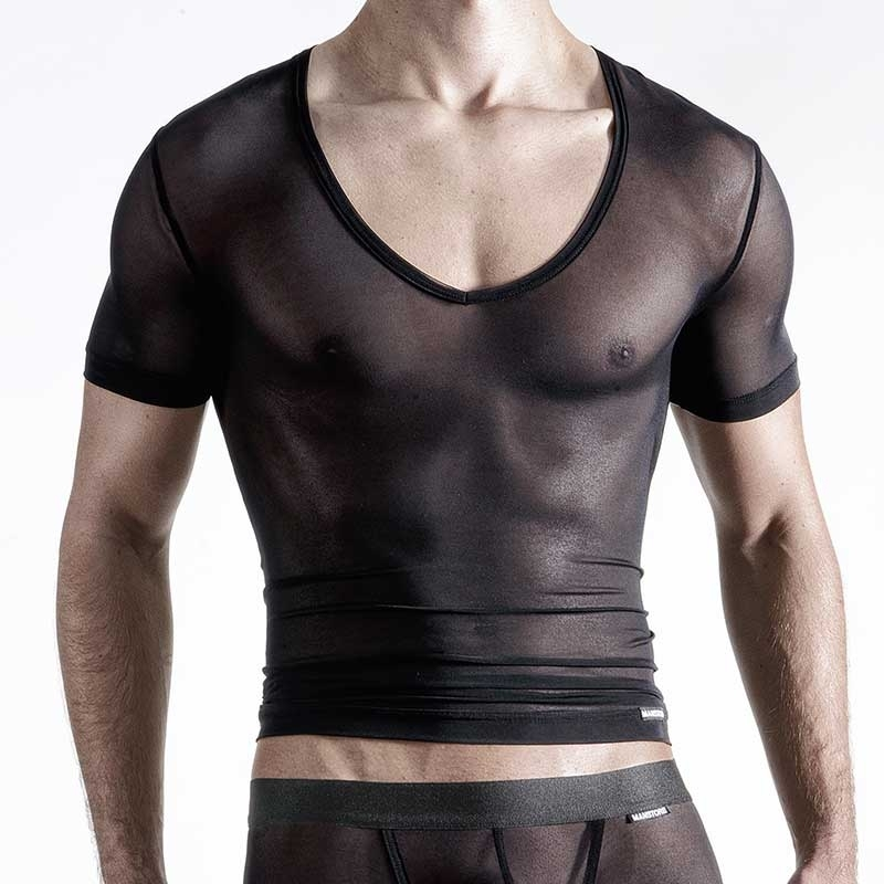 MANSTORE T-SHIRT hot M105 MESH black