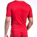 OLAF Benz T-SHIRT micro RED1201 Rib red