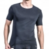 OLAF Benz T-SHIRT micro RED1201 Ripp black