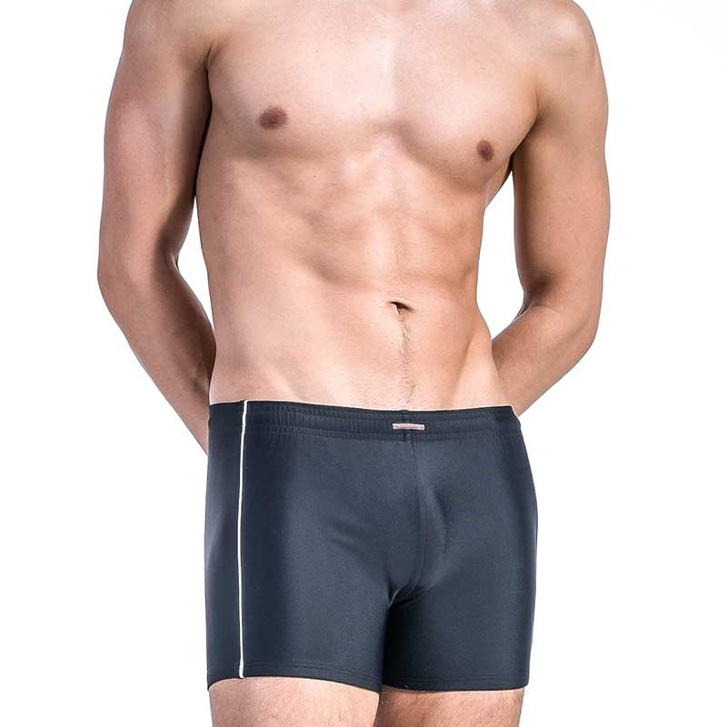 OLAF Benz TRUNKS swim BLU1200 beach pants black