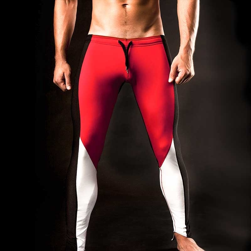 BARCODE Berlin HOSE MESH Rass Legging Athletik red