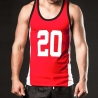 BARCODE Berlin TANK Top Game 20 athletik red