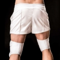 BARCODE Berlin TUBE KNIE protection PAD socks white